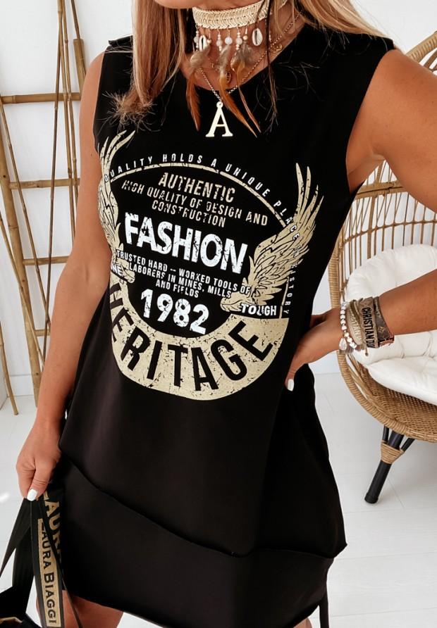 Sukienka Heritage Black