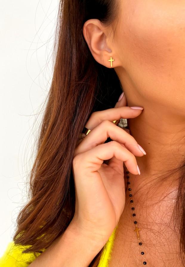 Kolczyki Cross Earrings