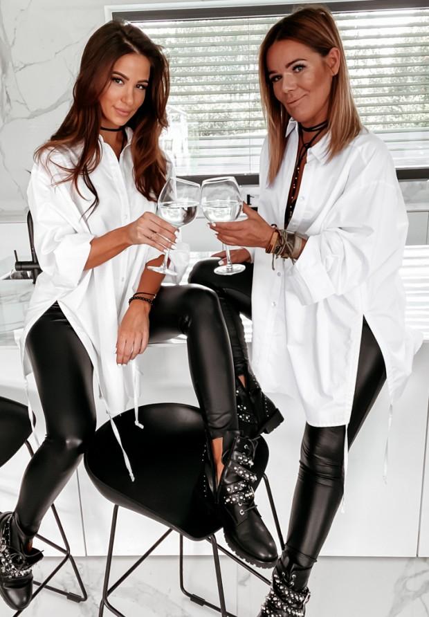 Koszula Oversize Champagne White