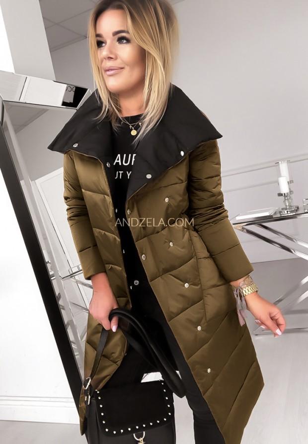 Kabát Dwustronny Cover Old Gold&Black