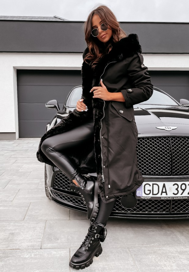 Bunda Brittany Black&Black