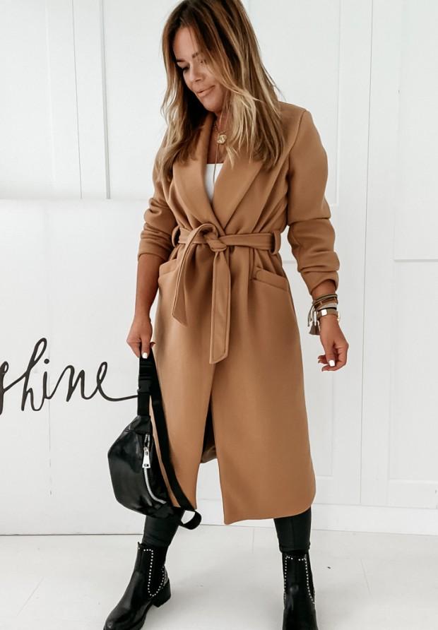Kabát Sensual Camel