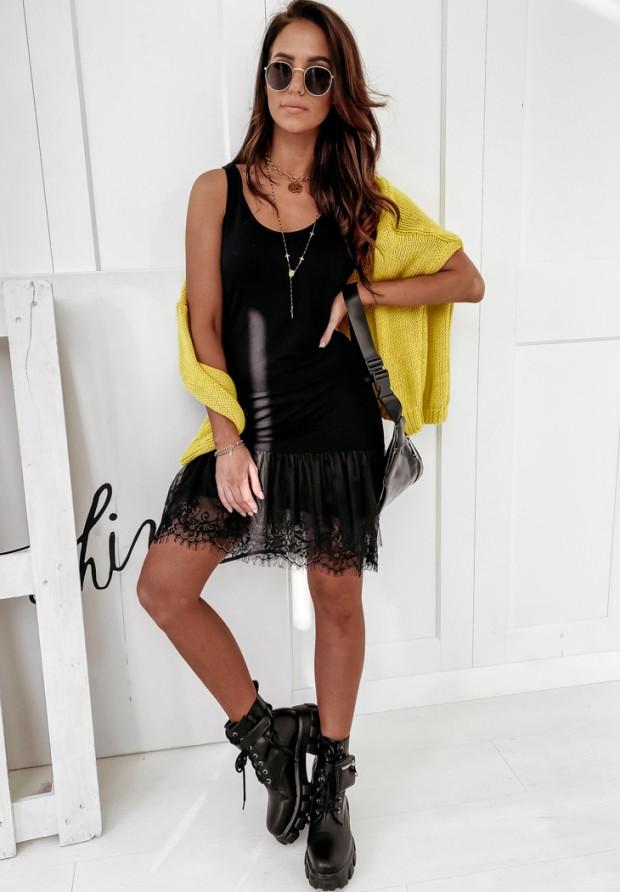 Šaty Tunika Tiul Poppy Black