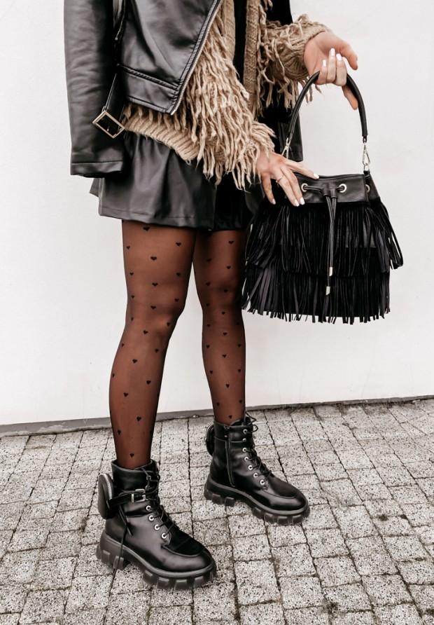 Rajstopy Emily Black