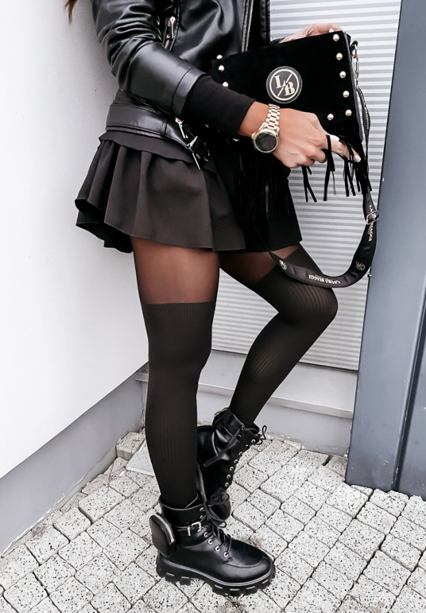 Pančuchy Rita Black
