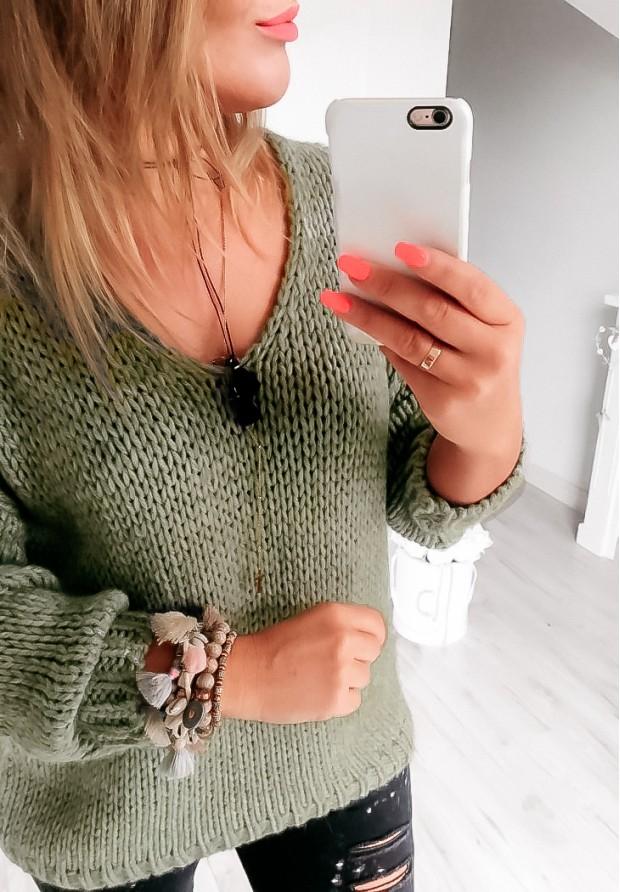 Sweter Chiocco Khaki