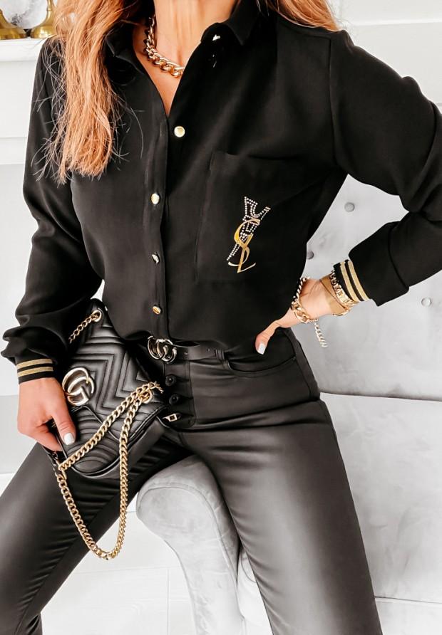 Košeľa Calfia Black