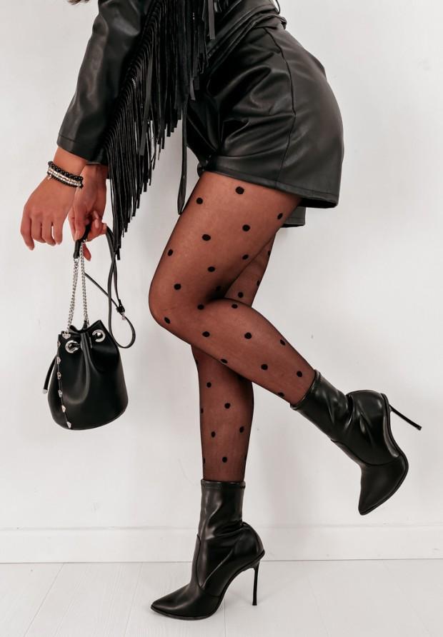 Pančuchy Eva Black