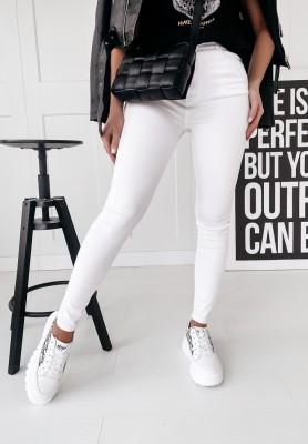 Nohavice Jeans Nicolo White