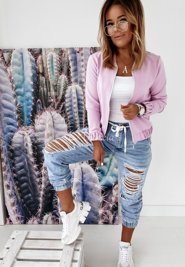 Nohavice Jeans Jogger Cerno