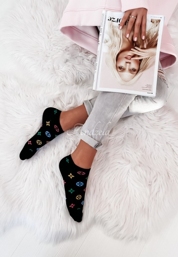 Ponožky Loui Color Black