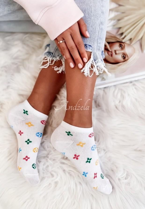 Ponožky Loui Color White