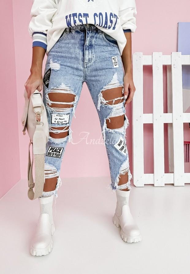 Nohavice Draw Jeans