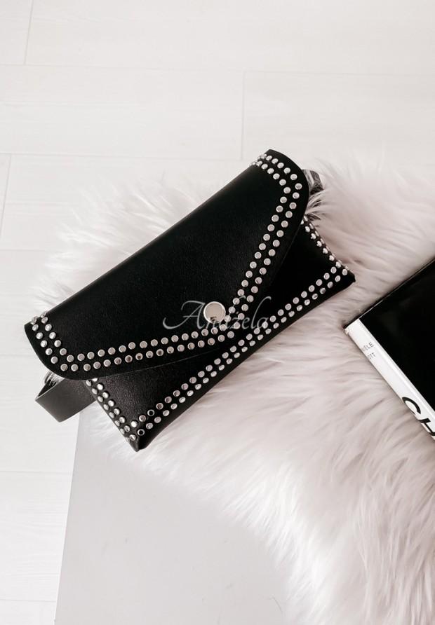 Ľadvinka Glamour Black&Silver