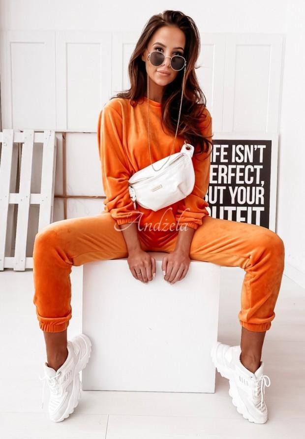 Nohavice Welur Mirray Orange