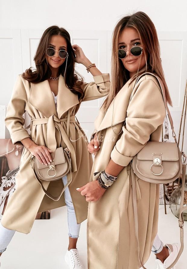 Kabát Classic Beige