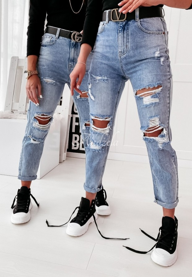Nohavice Jeans Andon