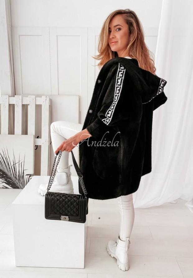 Kabát Alpaka Samuele Black