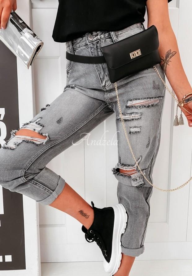 Nohavice Jeans Armas Grey