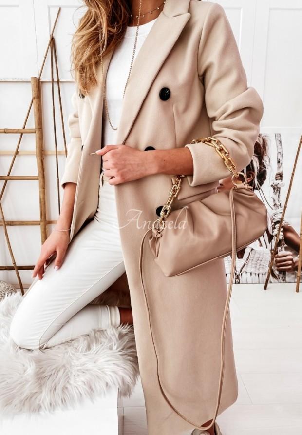 Kabát Caramell Beige