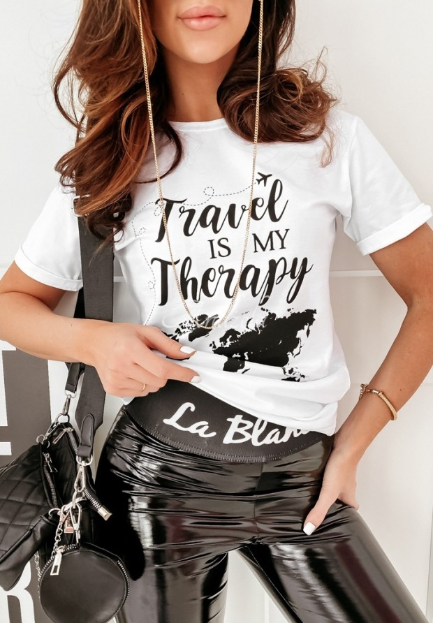 Tričko Travel Therapy White