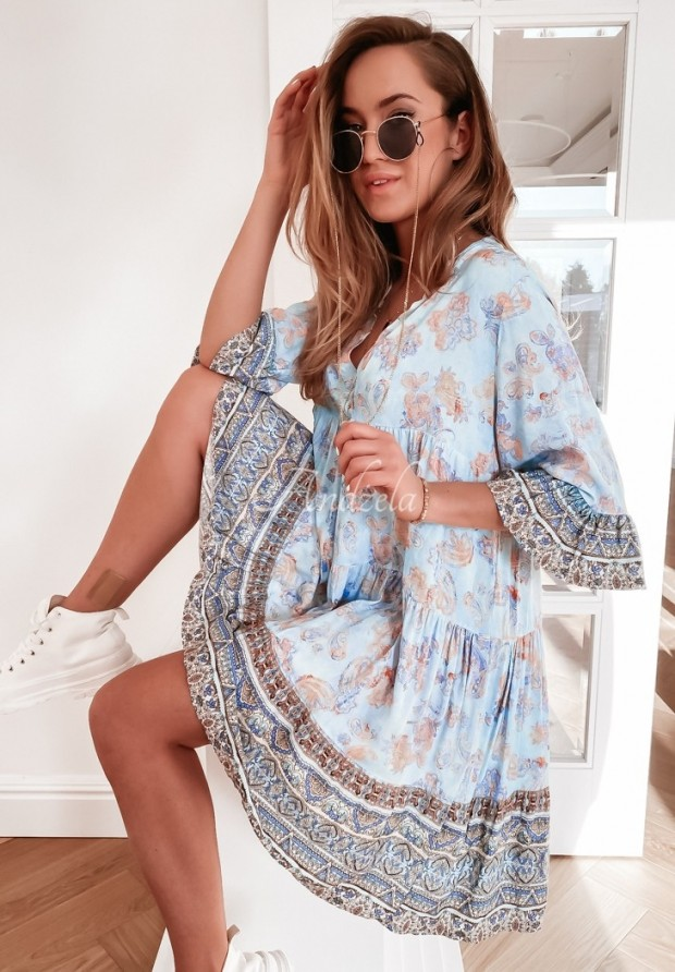 Šaty Lucy Baby Blue