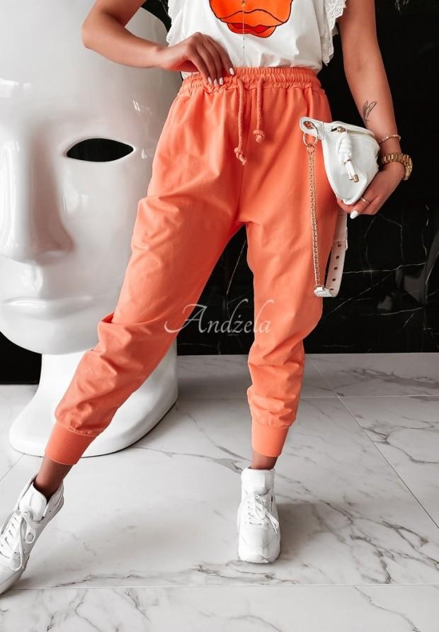 Nohavice Dresowe Savoia Orange