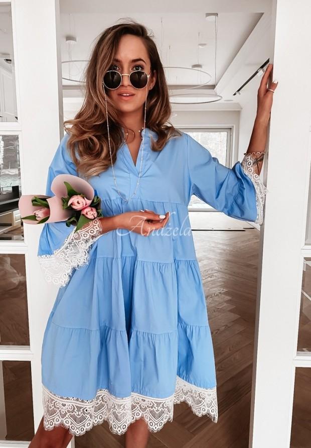 Šaty Leta Blue