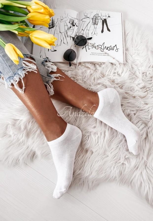 Ponožky Classic White