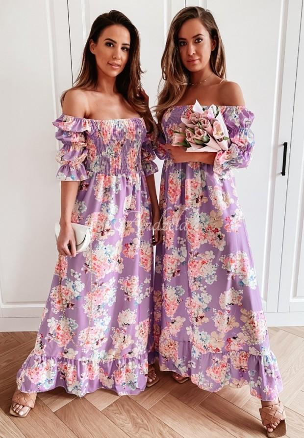 Šaty Španielsky Camellia Lilac