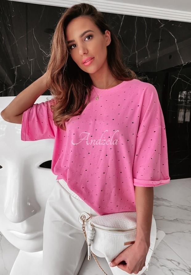 Tričko Oversize Lurton Pink