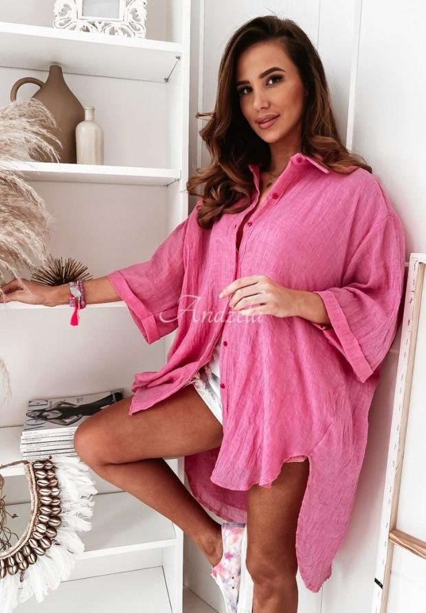 Košeľa Tunika Mirelle Pink