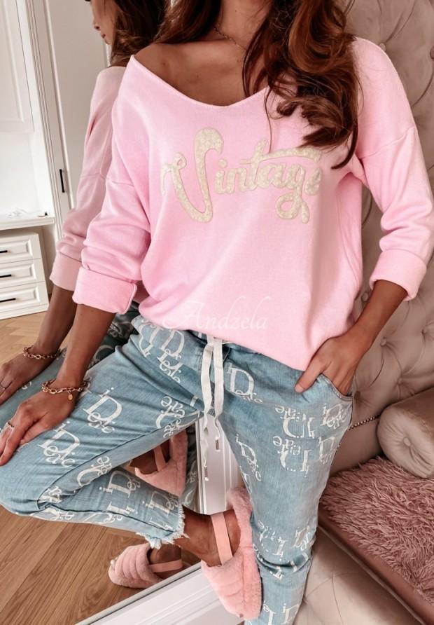 Sveter Vintage Pink