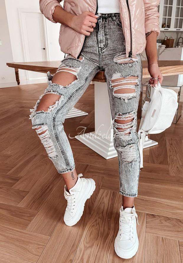 Nohavice Jeans Bestis Grey