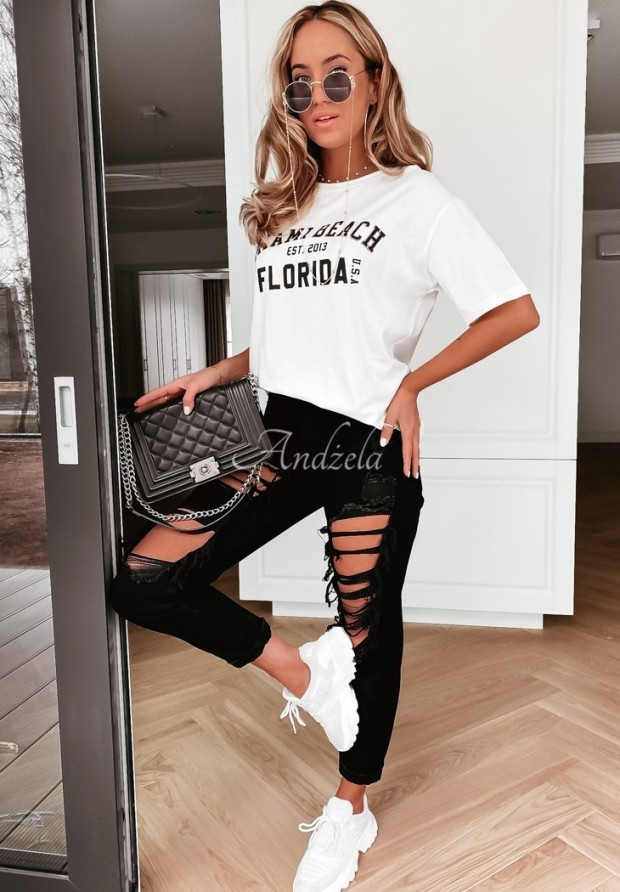 Nohavice Jeans Quessa Black