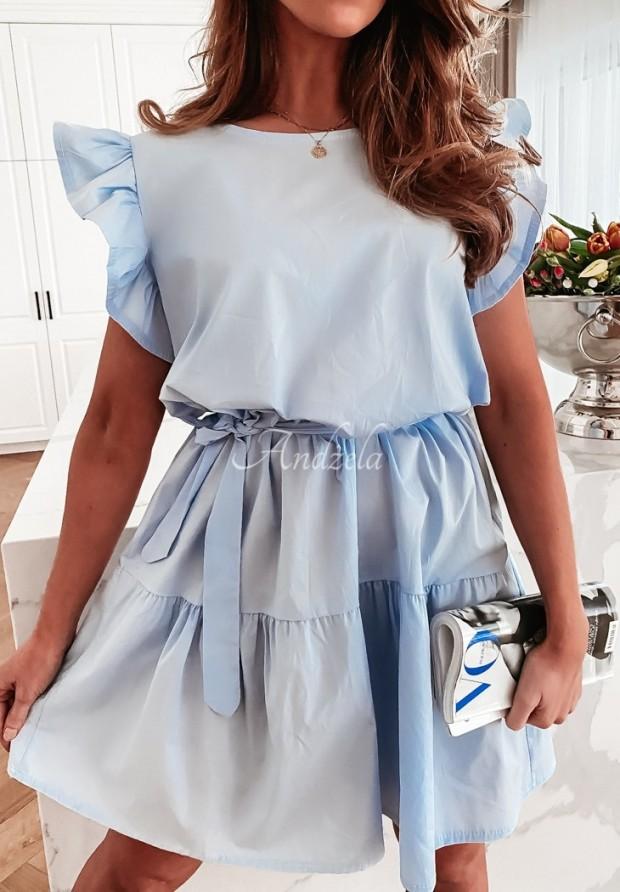 Šaty Zurra Baby Blue