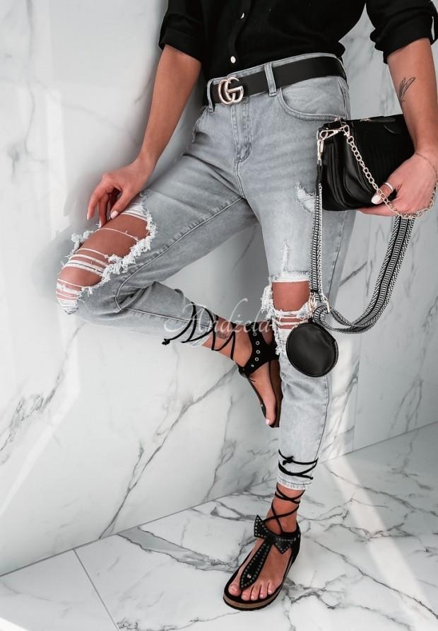 Nohavice Jeans Bolorra Grey