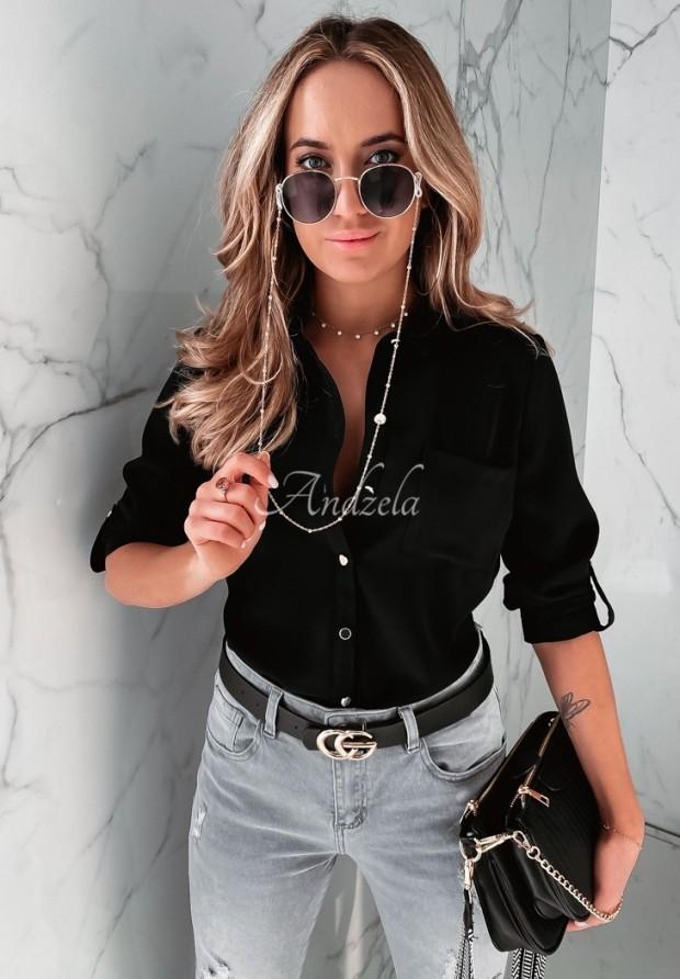 Košeľa Simpli Black