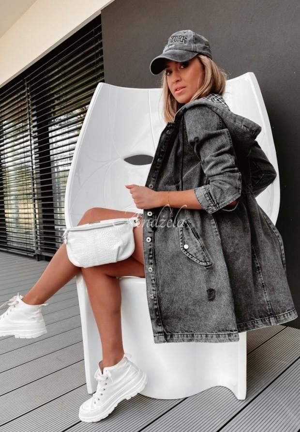 Bunda Katana Santini Jeans Dark Grey