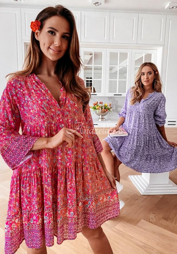 Šaty Beya Pink