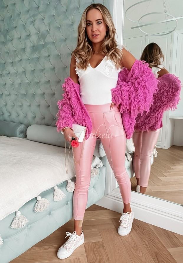 Nohavice Belemi Light Pink