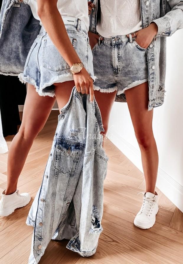 Kraťasy  Jeans Ilinois Blue