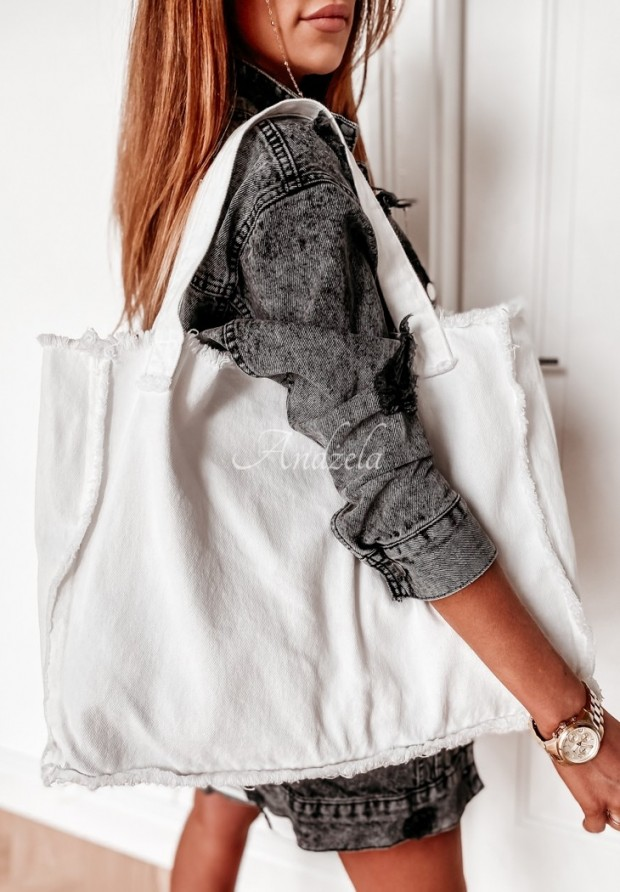 Torba Jeans Ohio White