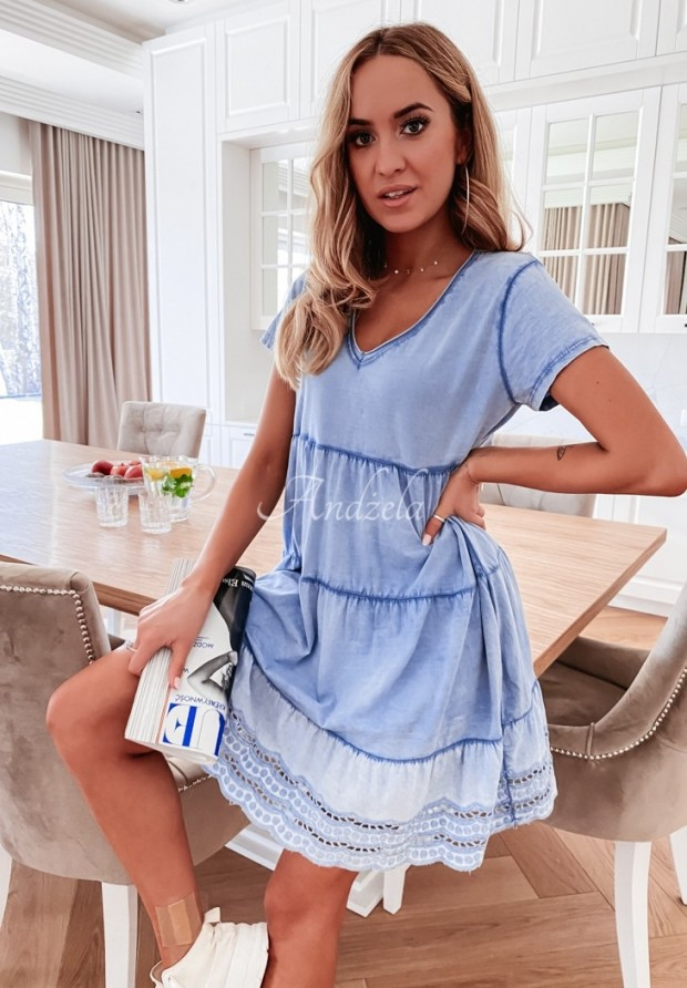 Šaty Laos Blue