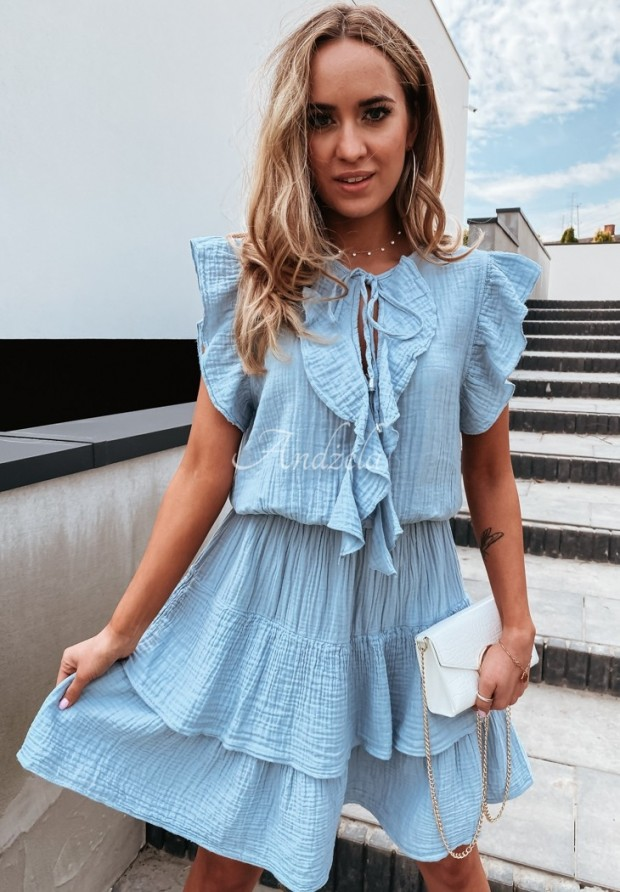 Šaty Nerissa Blue