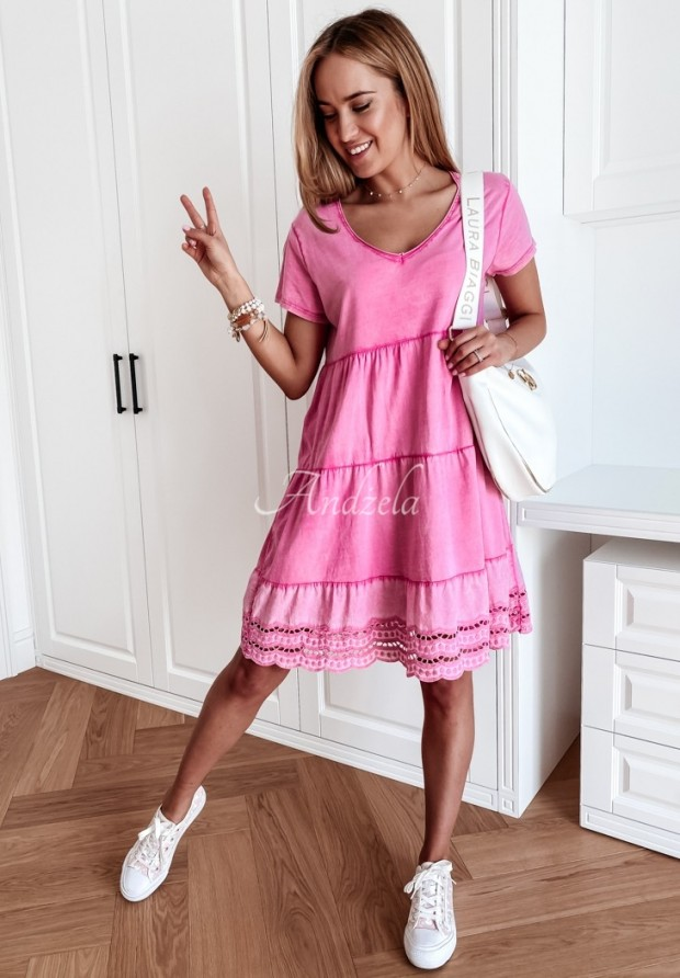 Šaty Laos Pink
