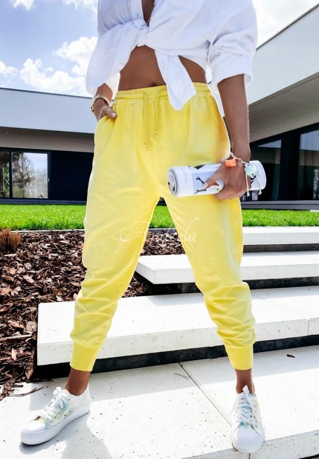 Nohavice Teplákové Savoia Yellow
