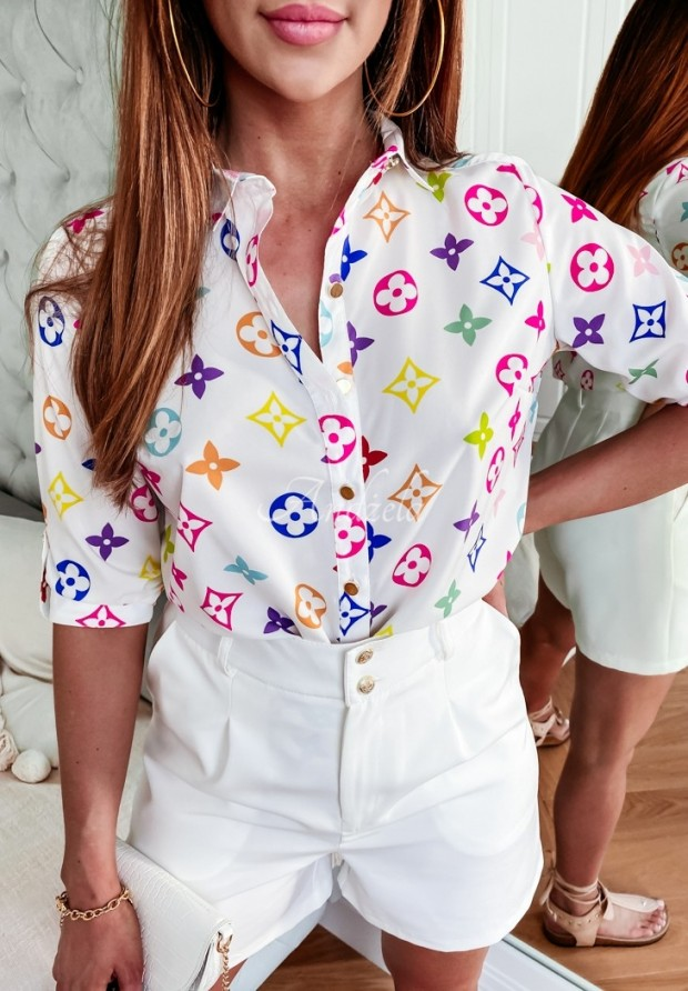 Košeľa Lou Color White