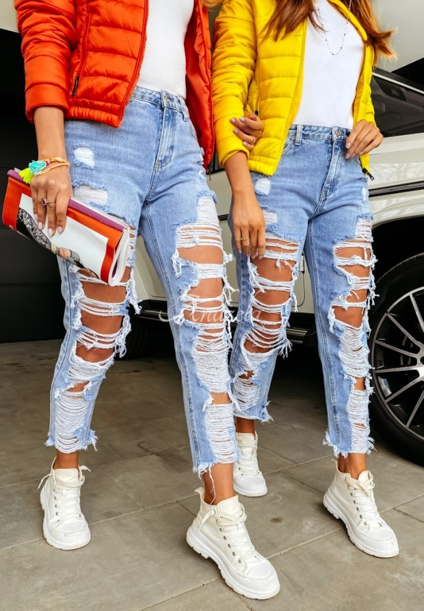 Nohavice Jeans Lorinda