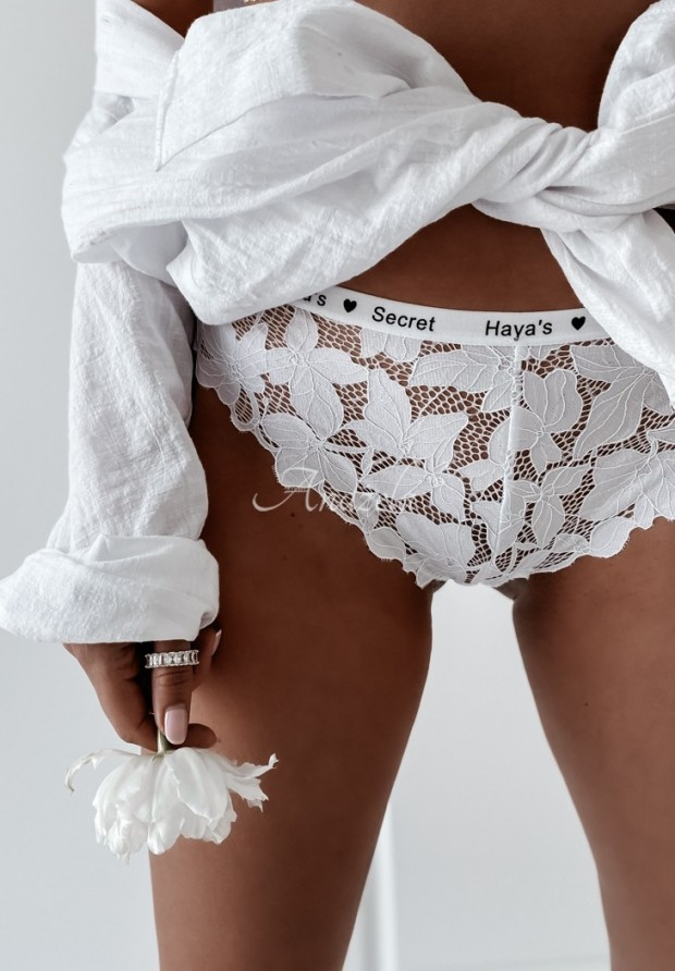 Nohavičky Secret White